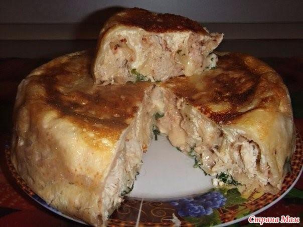 Печём вкусные и сытные пироги. 6 рецептов