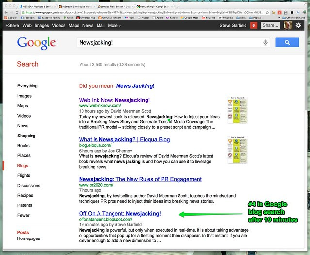 newsjacking! - Google Search