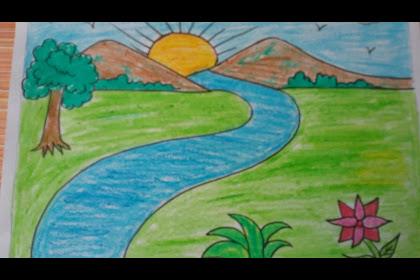 20+ Fantastic Ideas Landscape Drawings For Kids Easy