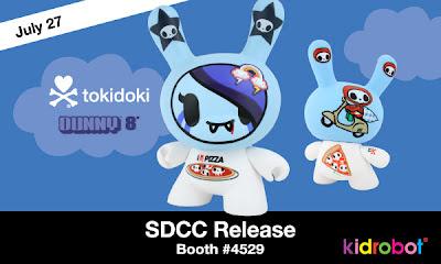 Kidrobot - Tokidoki 8 Inch Dunny San Diego Comic-Con Release
