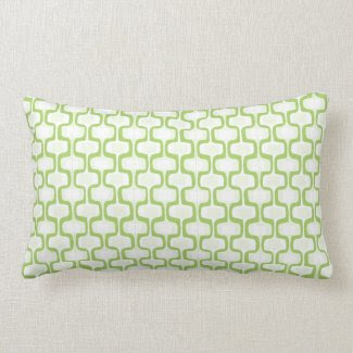 Spring Green Pattern Pillow throwpillow
