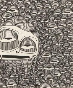 Street Art in Miami, Miami Street Artist, Ahol Snifs Glue, Wynwood, Miami Art Scene