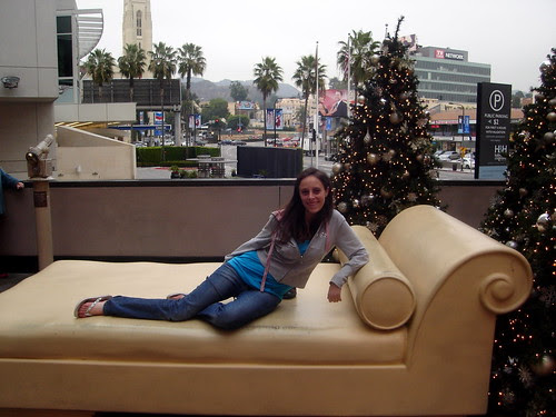 Posing at Hollywood & Highland