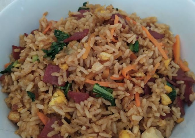 Resep Nasi goreng pelangi Yang Enak