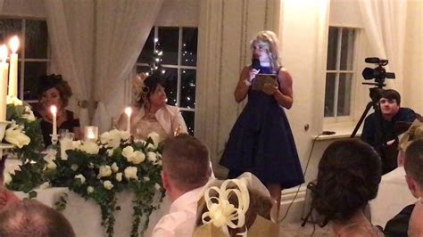Sister of the groom Wedding Speech   YouTube