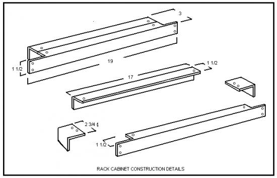 rack cabinet construction details