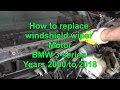 How Can I Tell If My Windshield Wiper Motor Is Bad