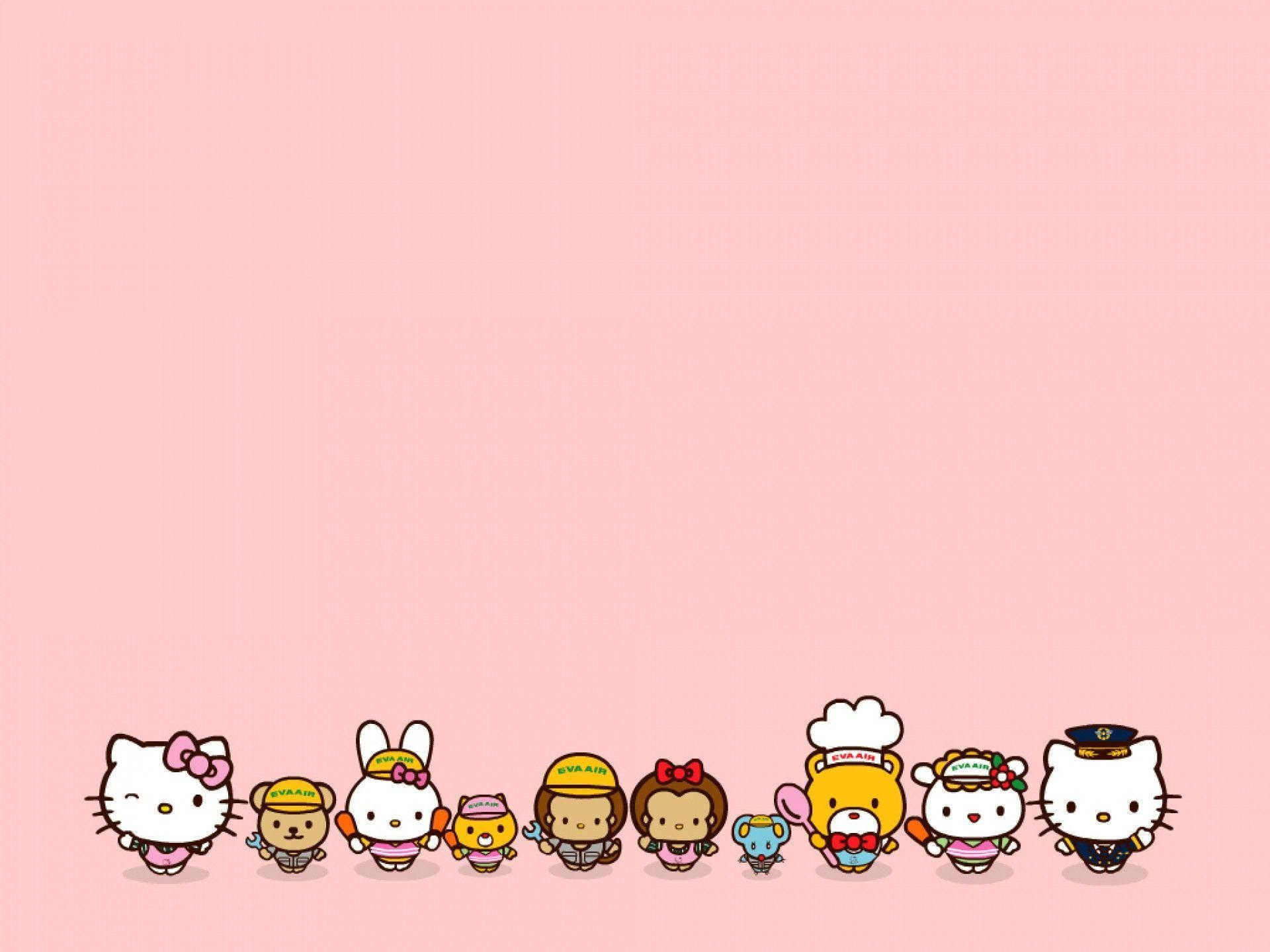Hello Kitty And Friends Wallpaper 57 Images