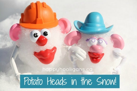 http://happyhooligans.ca/potato-heads-in-the-snow/