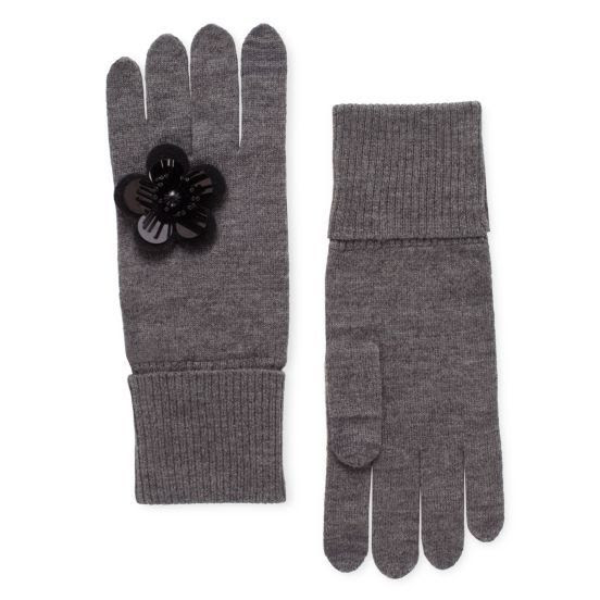 Kate Spade Magnolia Plaze Knit Gloves