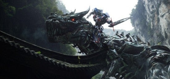 Transformers: Age of Extinction – First Official Dinobot Photo Released