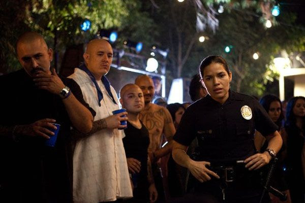 America Ferrera plays an LAPD officer in END OF WATCH.