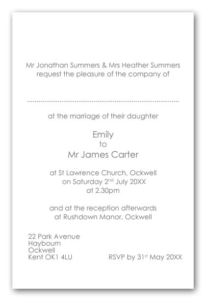 The best wedding invitations for you sample wedding invitations sample wedding invitations divorced parents filmwisefo