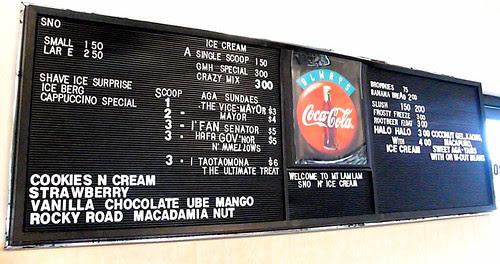 mt. lam lam menu