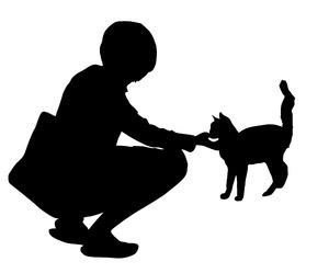 Stock De Fotos Gratis Chica Acariciando Un Gato Mzacha May