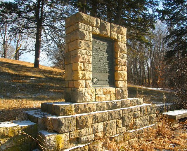 Christmas Lake Monument