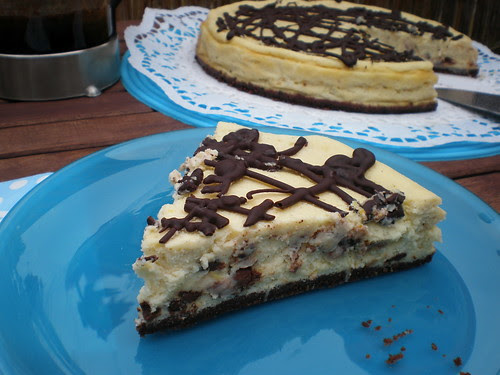 Cheesecake with Chocolate Chips