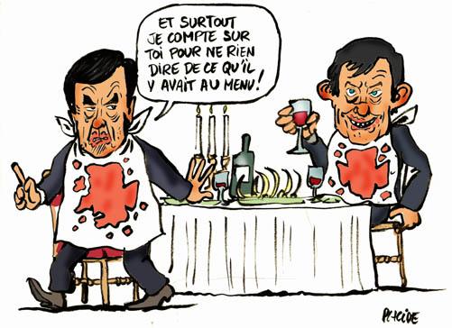 Fillon-Jouyet : Le dîner de cons...