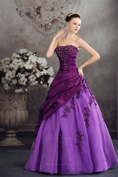 Best 25  Purple gowns ideas on Pinterest