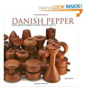 Danish Pepper: Jens Quistgaard's Teak Pepper Mills
