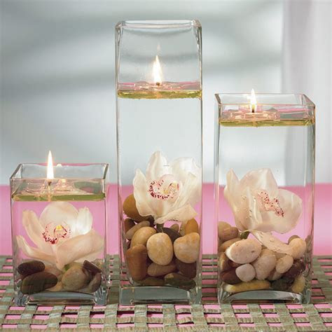 Wedding Centerpieces Floating Candle / design bookmark #10741