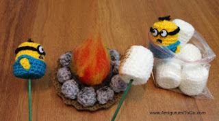 minion schema marshmallow amigurumi