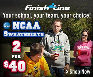 NCAA FLEECE - 2 for $40!