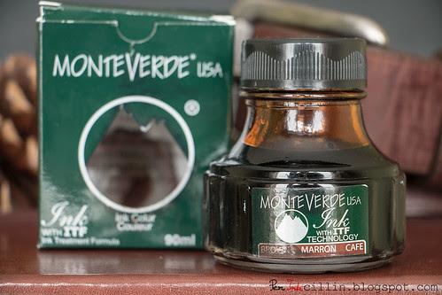 Monteverde Brown box & bottle