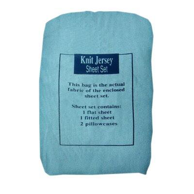 Textiles Plus Inc. Knit Jersey Sheet Set | Wayfair