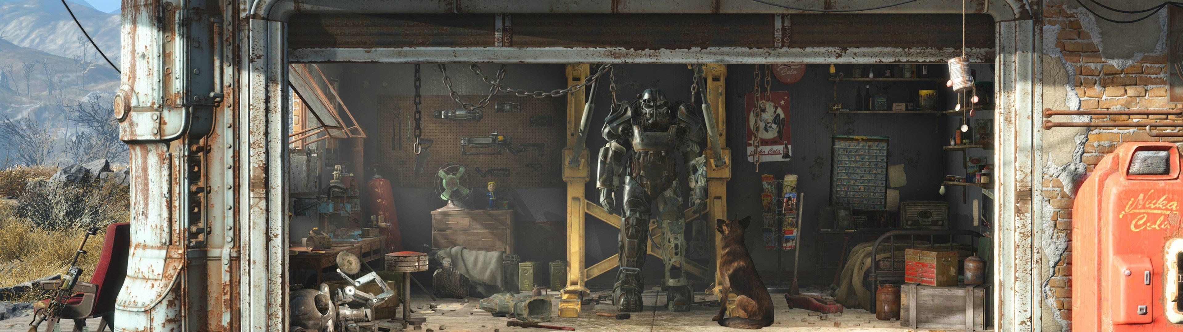 Fallout 4 Dual Screen Wallpaper 56 Images