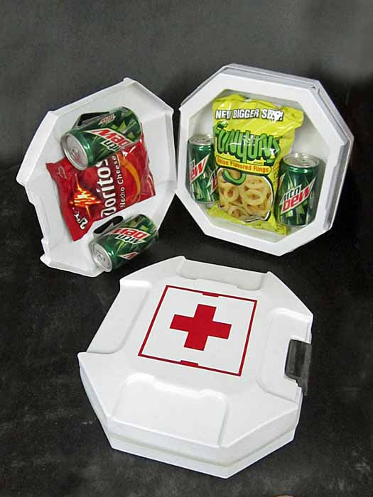 HALO First Aid Kit open