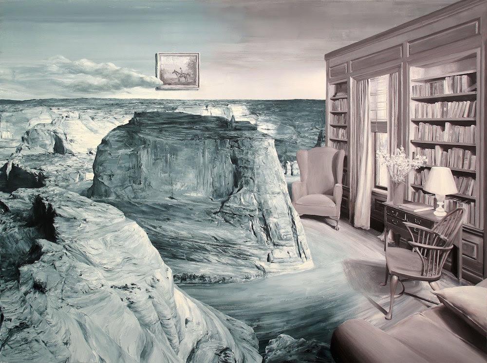 ARTES - Novas Pinturas surreais que subvertem Vintage temporada Fotos e paisagens históricas - por Paco Pomet por Kate Sierzputowski em 10 de agosto