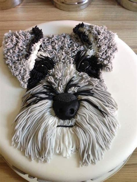 It's a cake how cool is that?!   schnauzers & schnoodles