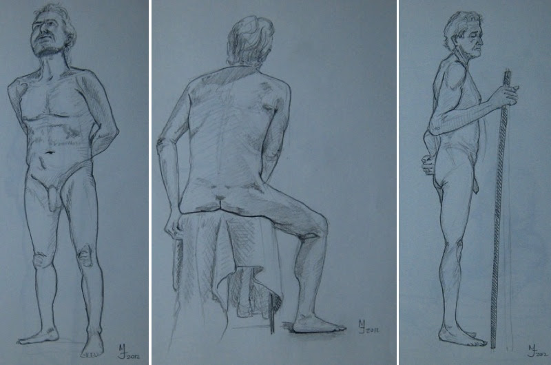 MJ SKETCHBOOK | Sandy Hill Life Drawing Workshop