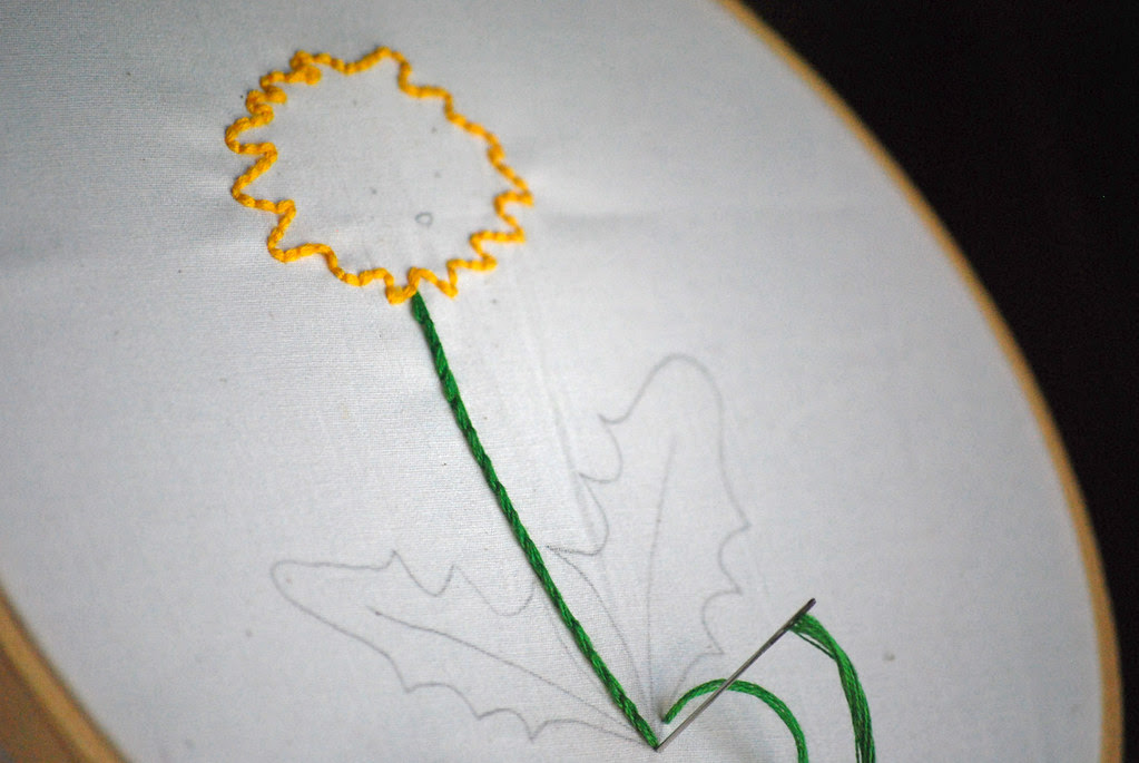 Delighted Dandelion WIP