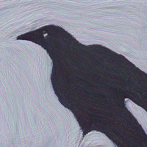 Crow Reflection