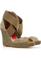 Paloma BarcelóMarina suede espadrille sandals