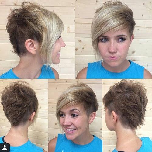 Asymmetric Short Haircut