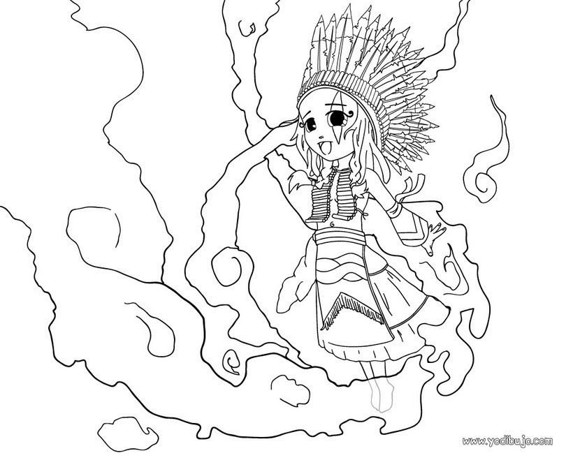 Vaqueros E Indios Dibujos Para Pintar 21 Dibujos Gratis Para