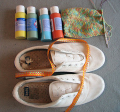 Painted Shoes, Supplies