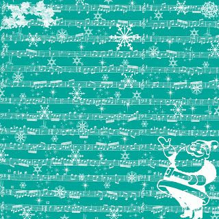 **FREE ViNTaGE DiGiTaL STaMPS**: Free Digital Scrapbook Paper - Christmas Sheet Music