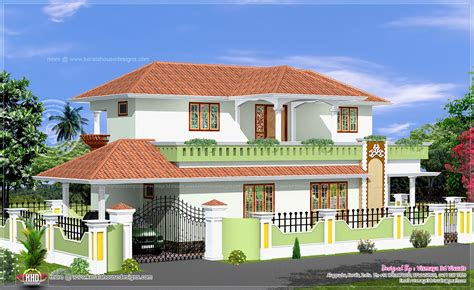 simple  bed room kerala style house home kerala plans