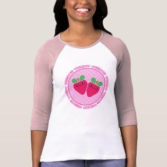 Yummy Treats Kawaii Strawberry T-Shirt shirt
