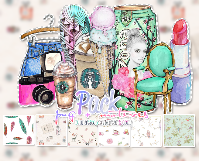 Pack Pngs + Motives by Luunatico