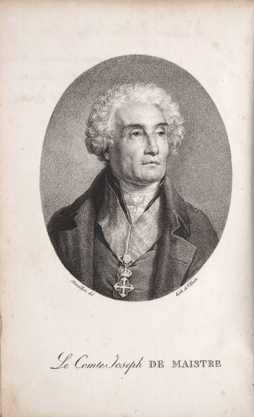 Bouillon/Villain: Joseph de Maistre