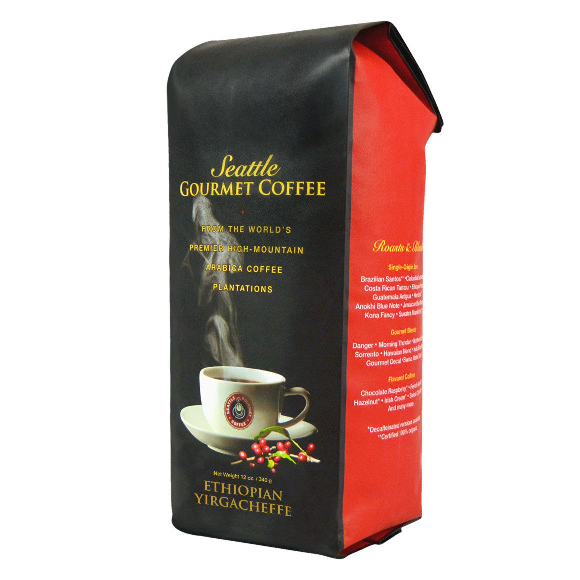 Ethiopian Yirgacheffe (Medium Roast) - Seattle Gourmet Coffee