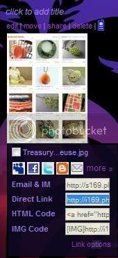 Grabbing a URL from Photobucket