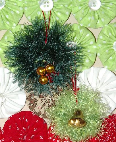 wreaths on tree