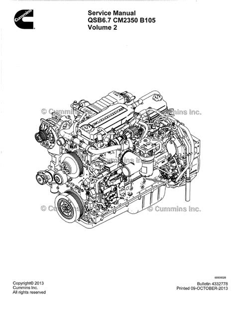 Cummins Engine QSB6.7 CM2350 B105 PDF Service Manual
