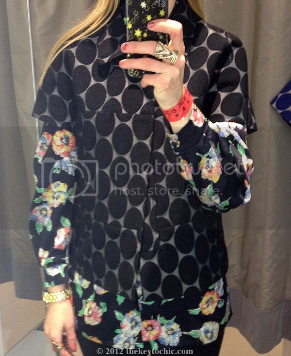 Marni at H&M black dot jacket
